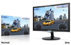 Jual Monitor LED Viewsonic 24? VX2452mh