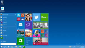 Start Menu pada Windows 10