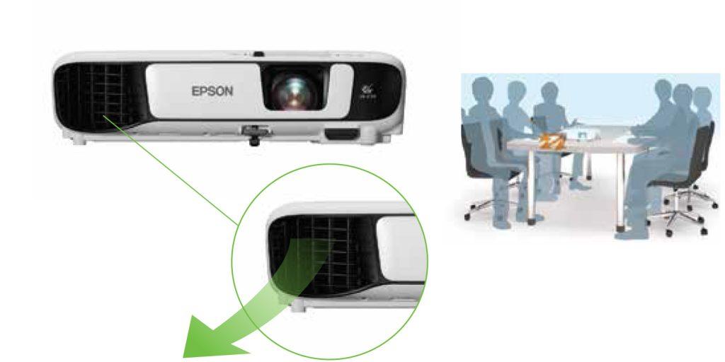 Epson EB-X400 redirect exhaust